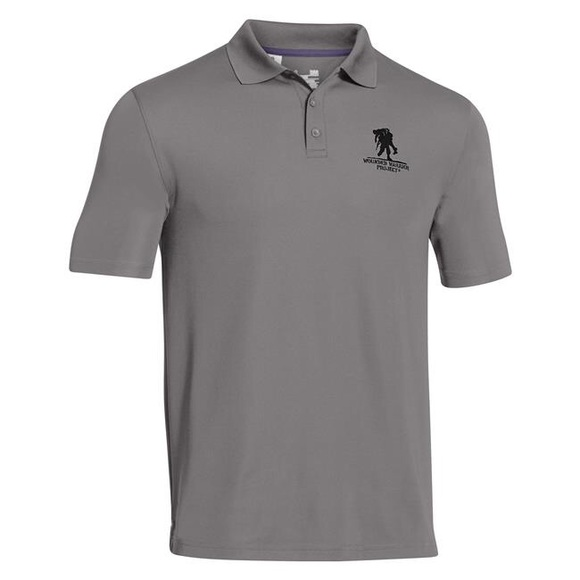 2c3cc988 Men's Under Armour Wounded Warrior Project Polo. M_5afe46e5caab4405b6e16b21